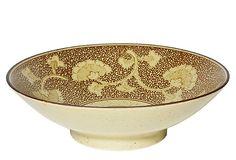 Sepia Gingko Bowl on OneKingsLane.com