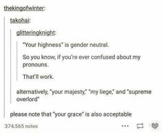 Gender Pronouns  looking beyond the binary with terms for