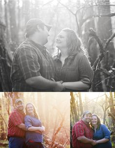Sunset engagement | Kreations b Kierra Photography | Engagement Photographer | Golden Hour| Southern Indiana Photographer| Country