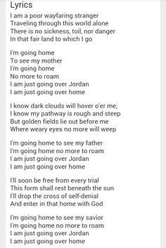 Wayfaring stranger lyrics - Jack White