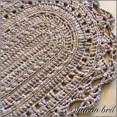 Oval Rugs Pitaya Crochet Patterns On Carpet Make Your Own Hooks Crocheting Beautiful Things