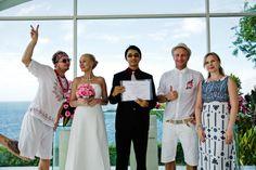 Wedding ceremony Evgeniia and Aleksnder with Romantic Bali Wedding