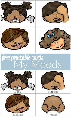 Looking for ways to help your autistic child identify moods and feelings? Wanting to help a preschooler with this tricky concept? Download these free printable mood cards.