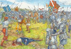 """The death of James IV of Scotland on Fodden Field, 9 September, 1513"""