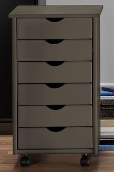 Stanton 6-Drawer Storage Cart - Storage Carts & Chests - Storage & Organization - Home Decor | HomeDecorators.com