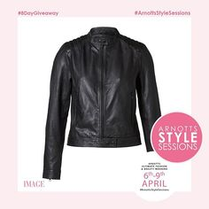 WIN!!!The @arnottsdublin #ArnottsStyleSessions are almost here and to celebrate we have an 8-day countdown of amazing prizes up for grabs! Our fourth amazing giveaway is this gorgeous @selected_official leather jacket worth 200! To win this fabulous prize simply like this photo and tag your best friend who'd love to win too! The winner will be announced soon but stay tuned for our next fantastic giveaway! If you'd like to come to the complimentary #ArnottsStyleSessions simply log onto…