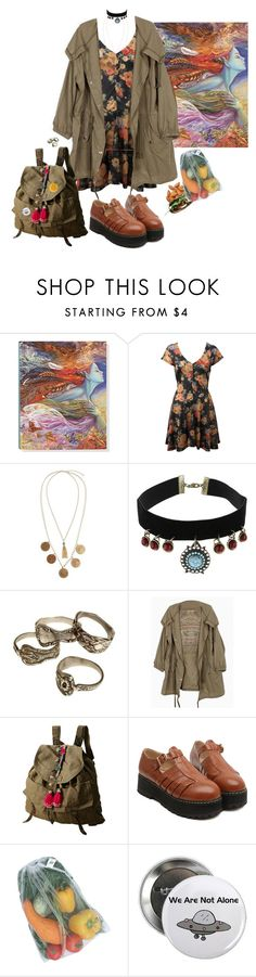 """running away will never make you free"" by writeyourownmagicspells ❤ liked on Polyvore featuring Miss Selfridge, ASOS and Topshop"
