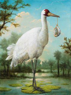 The Good Samaritan by Kevin Sloan, 40x30 acrylic