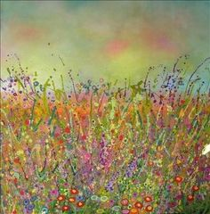 Wild Flowers. Yvonne Coomber