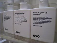 #Evo, love the name...bride of gluttony!