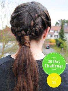 30 day challenge frisur des tages der faux mohawk der