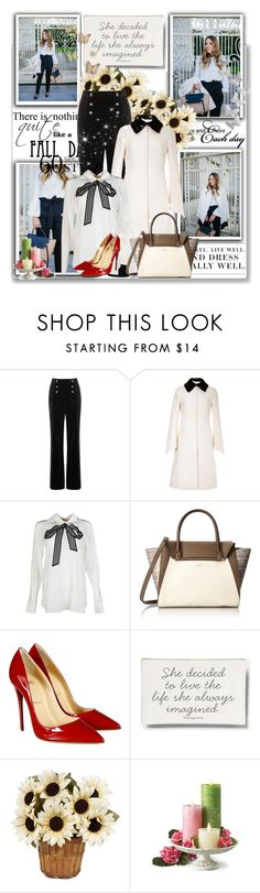 """""""..."""" by milica-b3 ❤ liked on Polyvore featuring мода, Oasis, Valentino, STELLA McCARTNEY, Vince Camuto, Christian Louboutin, Ben's Garden, Levi's, women's clothing и women"""