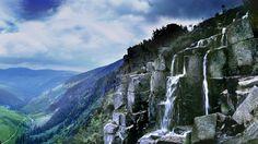 Krkonošský národní park Pančavský vodopád
