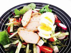 Heerlijke lunchsalades! <3 Ik hou er zo van!