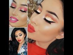 *Top 10 *beautiful makeup for Christmas and New Year at INSTAGRAM 2016? - YouTube