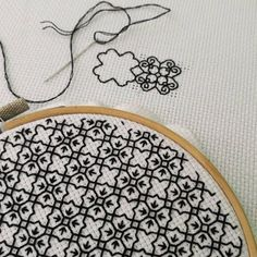 Blackwork, something a little different.