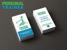 Cartão Pessoal Julia Personal Trainer