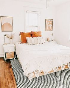 Bedroom Decor For Couples, Room Ideas Bedroom, Home Bedroom, Bedrooms, Bedroom Inspo, Bedroom Pics, Bedroom Neutral, Budget Bedroom, Bedroom Inspiration