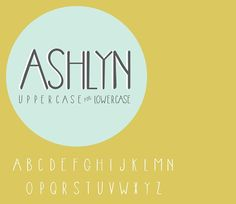 Ashlyn by OnTheSpotStudio on @creativemarket