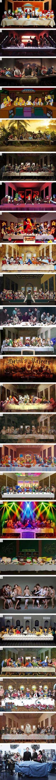 The Last Supper Parodies - Damn! LOL