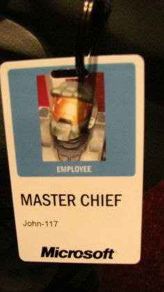 Master Chief, Microsoft's final line of defense. No getting past him.