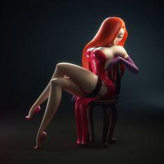 Jessica Rabbit by Bernardo Pichardo