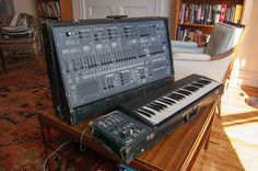MATRIXSYNTH: Vintage ARP 2600 Synthesizer with Keyboard SN 0054...