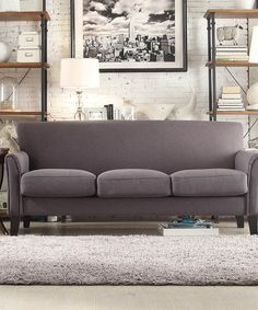 Take a look at this Dark Gray Kinsley Sofa on zulily today!