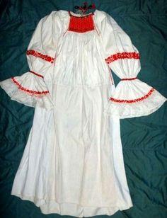 Romanian blouse. Mures region 19th c.