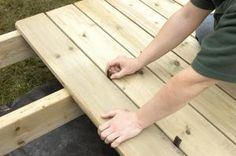 fixing a deck - Dorling Kindersly