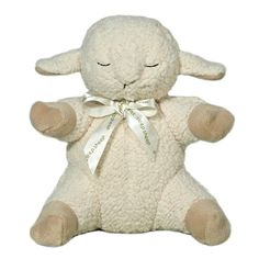 A compact version of the award-winning original Cloud B Sleep Sheep, the adorable Cloud B Sleep Sheep On The Go makes a perfect travel companion when you are away from home. It has four soothing sounds to help your child sleep easier. www.rightstart.com $24.99