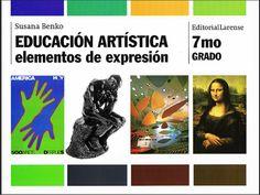 """#HotChocolateDesign en la educación venezolana - (Portada) Libro """"Educación Artística 7mo Grado"""" / Autor: Susana Benko"""