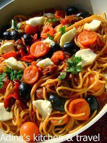 Adina's kitchen & travel: Spaghete milaneze
