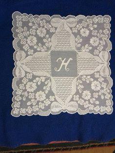 needle run embroidery on tulle by Leboreira Carmen