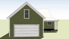 Southern Cottage for a Narrow Lot - 15043NC   Architectural Designs - House Plans Southern Cottage, Bonus Rooms, Retirement Planning, Retirement Cards, Retirement Funny, Teacher Retirement, Life Plan, Master Suite, Living Area