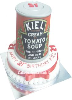 Heinz Tomato Soup Can Cake