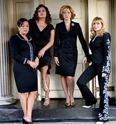 The Women of the Sopranos Rosalee Aprille (Sharon Angela) Janice Soprano (Aida Turturro) Carmela Soprano (Edie Falco) Gabrielle Dante (Maureen Van Zandt)