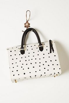 polka dot snadrine speedy handbag by clare vivier #anthrofave
