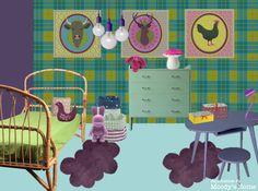 Colorful Child room - chambre d'enfant colorée