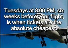 Cheap flight tickets tip