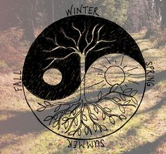 ॐ  the influences of   YIN  and  YANG  throughout the year  ॐ.