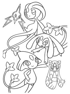 Pokemon Uxie Coloring Pages Through The Thousands Of Photographs On Net With Regards To