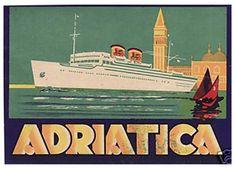 Adriatica by Luggage Labels by b-effe, via Flickr