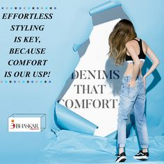 Where #Comfort is the top most priority #BhaskarDenims