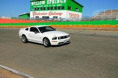 Fun at Willow Springs, CA...
