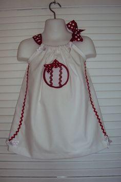 Girls Baseball Pillowcase Dress, Sun Dress. For Your Little baseball Fan. MLB