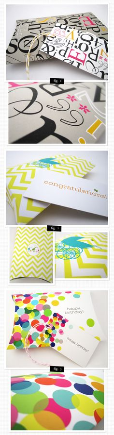 Gorgeously designed gift boxes by Branch + Cotton