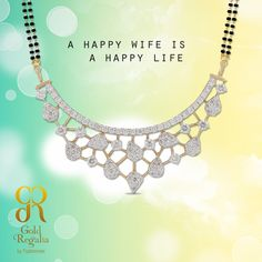 A happy wife is a happy life! : http://goo.gl/vx9gRg #मंगळसुत्र #Marriage #Tradition #Pendant