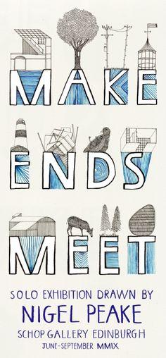 making ends meet : Nigel Peake