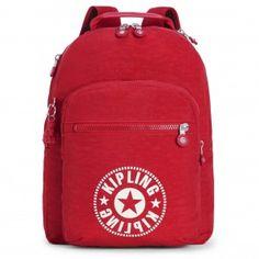 2eea040014 Kipling Clas Seoul Backpack - Lively Red Sling Backpack